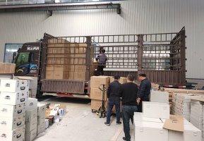 雷管箱发货运输案例